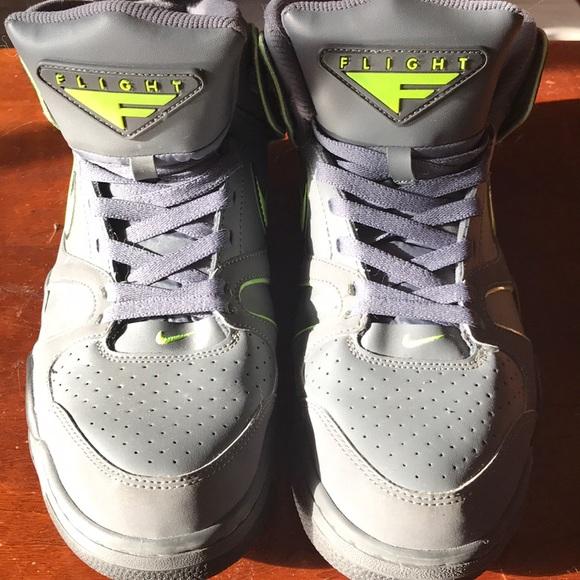 Nike Air Max 360 NDESTRUKT Gray Orange Men's Size 10 Basketball Shoes